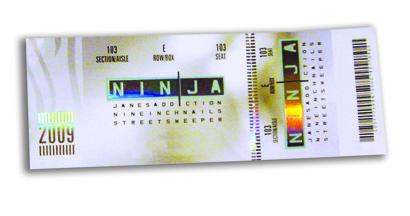 NINJA Ticket
