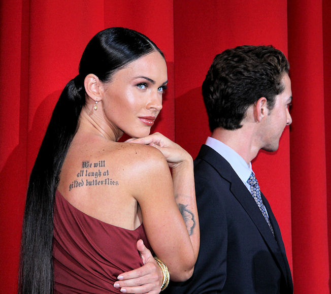 Transformers 2 Berlin Megan Fox Tatuaje