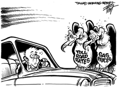 toll tax vultures
