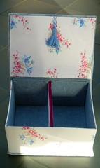 Boîte bleue - intérieur