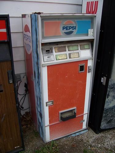 vintage pepsi pop machine