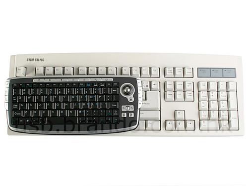 USB 2.4Ghz RF Wireless Multimedia Tiny Keyboard