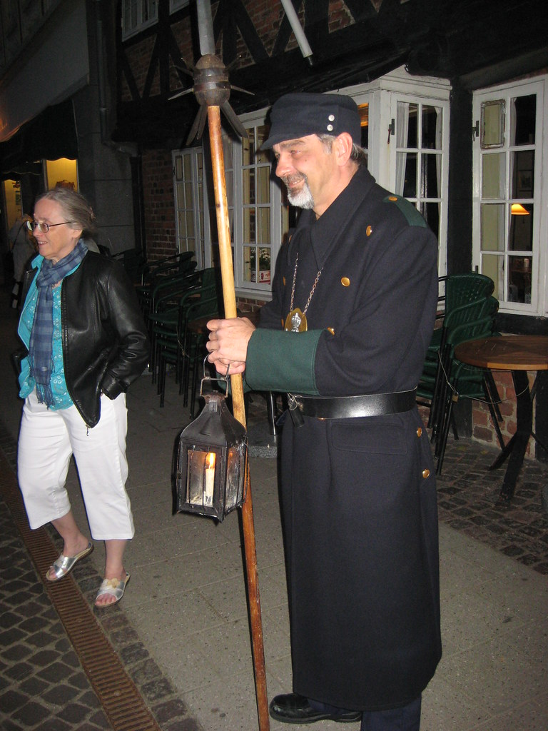 Nightwatch man in Ribe