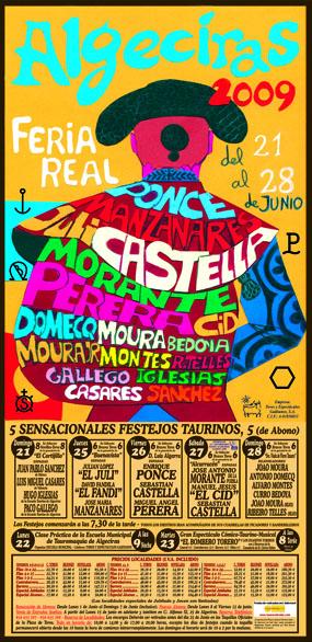 Cartel Algeciras 2009