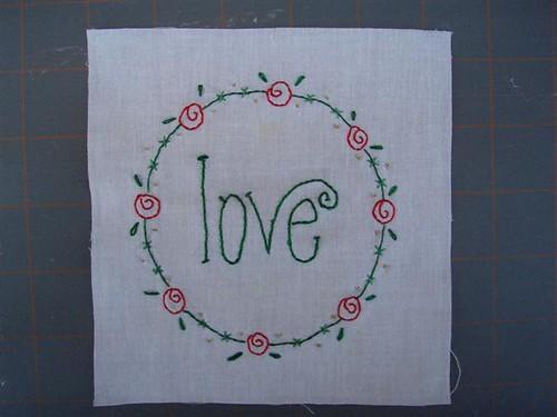 Christmas Wish Block 1 - Love