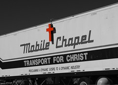 Transport For Christ (pam's pics-) Tags: colorado christ god jesus denver semi truckstop trucks gospel d40 mobilechapel commercecitycolorado truckstopchurch morrisnikon churchdenvercocoloradodenverpampam sappbrotherstruckstop