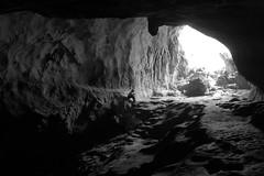the reader (my.name.is.joe) Tags: blackandwhite book read cave laos solitary mungngoineua