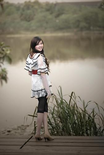 [フリー画像] 人物, 女性, アジア女性, 中国人, 201104140900