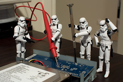 Imperial tech support, have you tried turning it off and on again? (-spam-) Tags: canon toy starwars tech plastic trouble stormtrooper harddrive 365 figurine screwdriver hasbro 40d