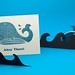 Ahoy There Whale Card