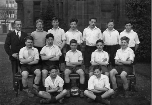 Bellahouston Football Team 1945/46