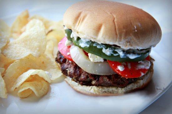 Lamb Burger 550