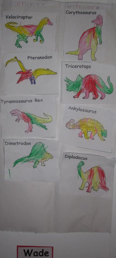 Dinosaur decorations