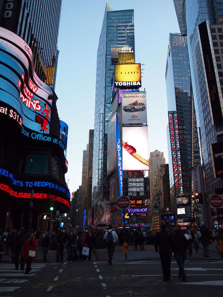 USA Trip - Times Square
