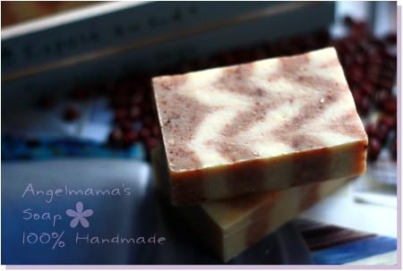 紅豆牛奶磨砂皂3