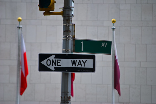 First Avenue - One Way