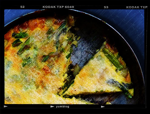 Potato and Asparagus Frittata