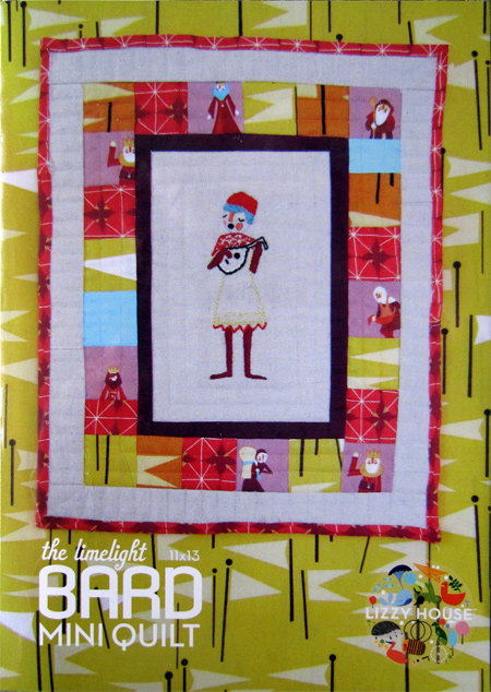 Lizzy House Bard Mini Quilt