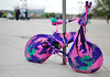Knit Rider (StephiGraffink) Tags: pink green bike bicycle delete5 delete2 weird nikon knitting purple pavement delete6 object crochet wheels knit save3 poland delete3 save7 save8 delete delete4 save save2 chain odd save9 save4 warsaw pedals save5 unusual save10 knitted save6 bizarre d60 savedbythehotboxuncensoredgroup