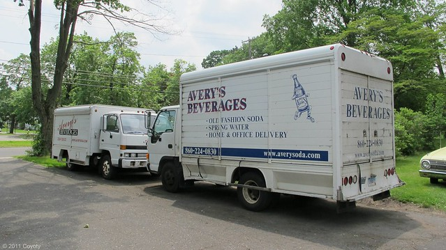 Avery's delivery trucks