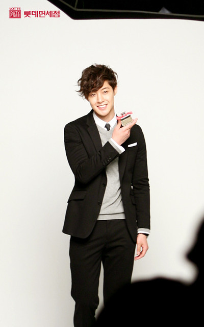 Kim Hyun Joong Lotte Duty Free Photoshoot (Korea)