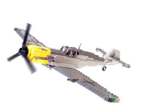 how to build a mini lego ww2 dropper plane