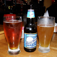 Sam Adams and Blue Moon beer #6924