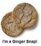 I'm a Ginger Snap!