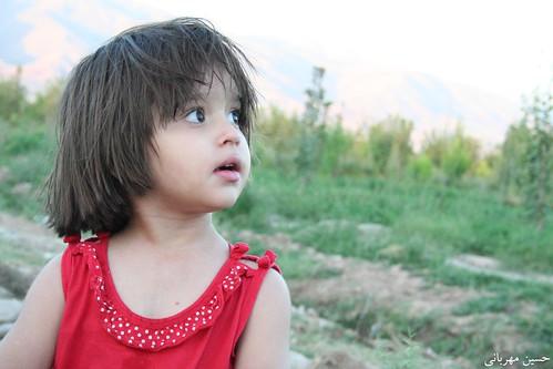 عکس یک دختر کوچولوی ناز و خوشگل