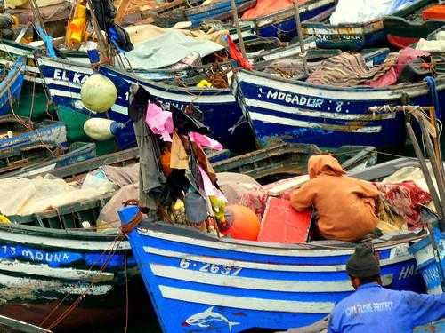 Port de peche à Agadir