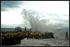 Waves (micxs032(al michael)) Tags: sea pier waves philippines dumaguete ih negrosoriental sibulan
