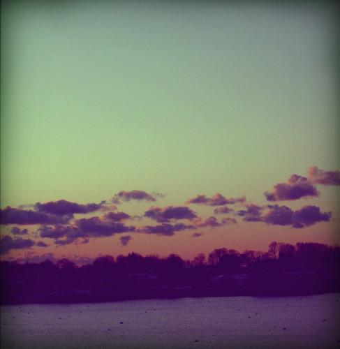 sunrise over atlantic