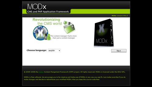 MODx by you.
