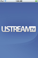 uStream - Splash Screen