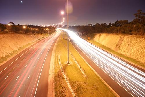 Streaming car lights - by Michael Scott
