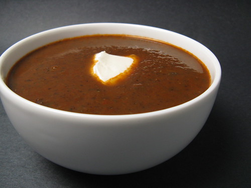 Good Appetite: Roasted Red Pepper & Black Bean Soup