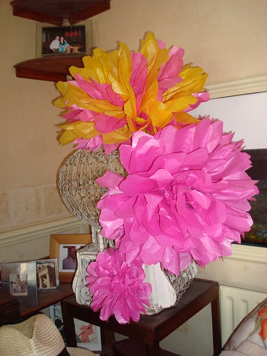 Trying out wedding decoration ideas part 1 tissue paper flowers and trying out wedding decoration ideas part 1 tissue paper flowers and birdcage mightylinksfo