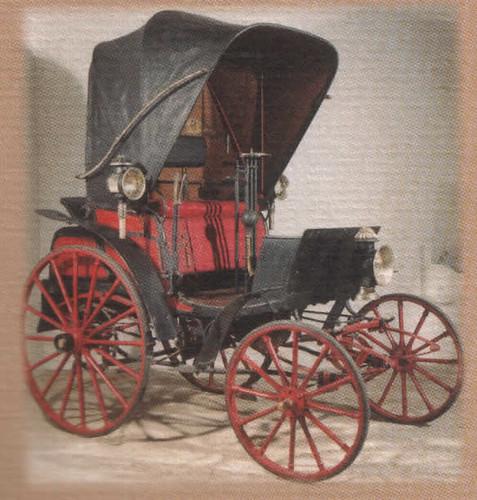 Primer coche que llegó a las Baleares