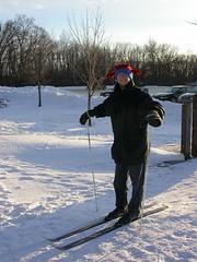 pre-skiing
