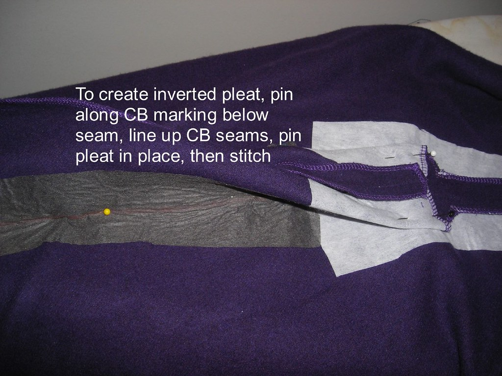 Put in Inverted Pleat