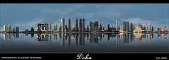 Doha (khalid almasoud) Tags: city reflection canon lens eos bay photographer 24 105 khalid doha     50d  almasoud   adigicam