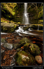 Forgotten Falls (Leighton Roberts) Tags: longexposure trees cliff color colour tree wet water beautiful wales sunrise trek river dark outdoors waterfall moss rocks stones walk january waterfalls valley stunning flowing welsh splash wellies outing wfc cs3 araf talybont wetfeet sigma1020 wetknees nikond90 welshflickrcymru waterfallcountry leightonroberts waleswet reallycoolphotos