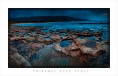 Thirroul Rock pools (fischstarr) Tags: ocean orange mountains beach rock clouds nikon surf framed postcard pools nsw 1855mm filters thirroul cokin gradnd 121s 121m d40x
