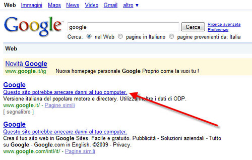 Google in Tilt
