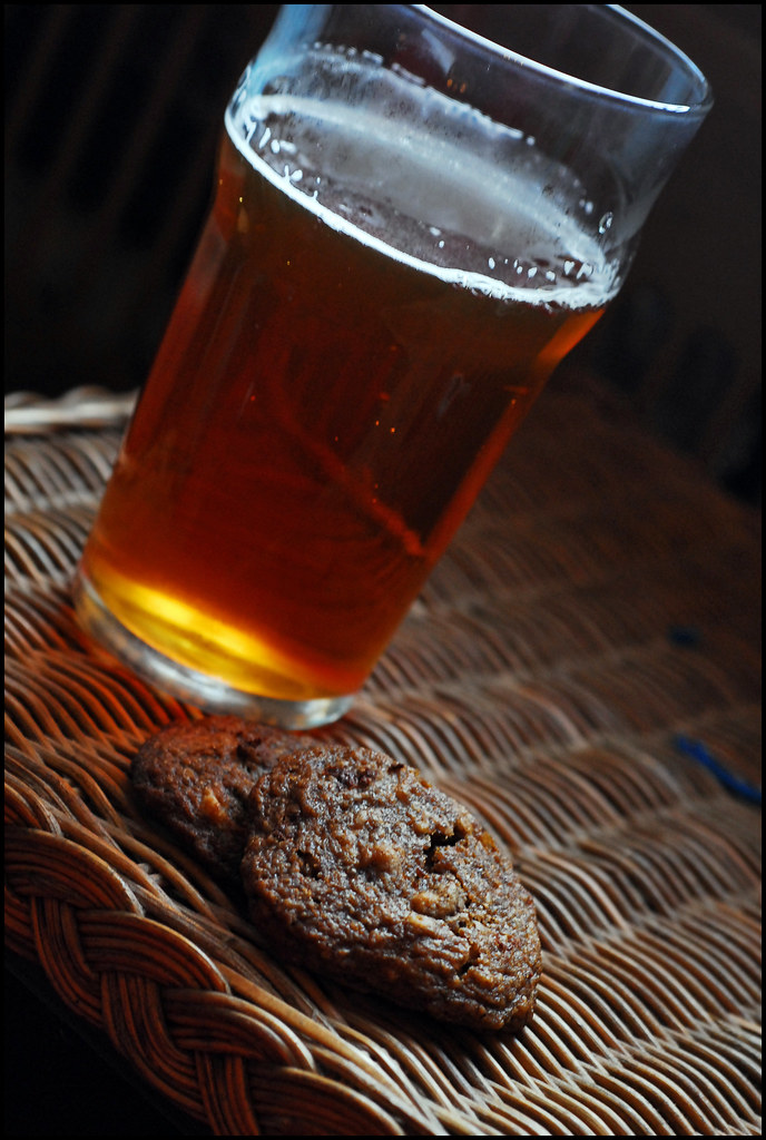 beer and cookies