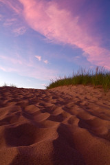 Cape Cod Beach Path at Sunset (Chris Seufert) Tags: beach book path provincetown dunes dune cape cod nationalseashore duneshack provincelands margogelb