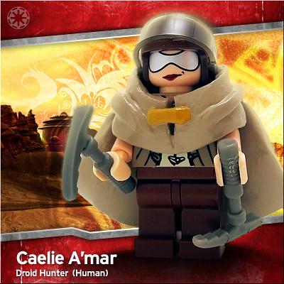 Lego Caelie A'mar custom minifig