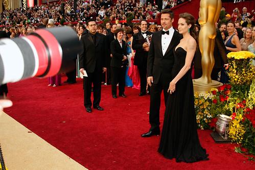 Premios Oscar Brad Pitt y Angelina Jolie