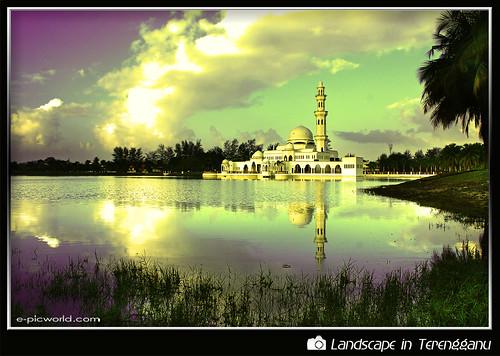 masjid terapung kuala ibai picture