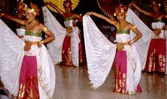 Bali Dancers / Balinese Dance - White Wings